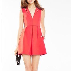 BCBGMAXAZRIA Clayre Dress - Red